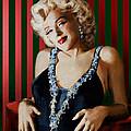Marilyn 126 D Stripes by Theo Danella