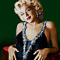 Marilyn 126 Green by Theo Danella