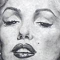 Marilyn Closeup by Christine Maeda