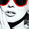 Marilyn In Shades by Marc Levine