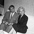Marilyn Monroe And Joe Dimaggio by Underwood Archives