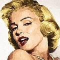 Marilyn Monroe 08 by Samuel Majcen