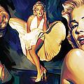 Marilyn Monroe Artwork 3 by Sheraz A