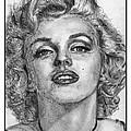 Marilyn Monroe by J McCombie