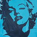 Marilyn Monroe Loves Batman by Robert Margetts