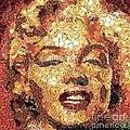 Marilyn Monroe On The Way Of Arcimboldo by Dragica  Micki Fortuna
