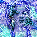 Marilyn Monroe Out Of The Blue by Saundra Myles
