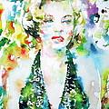 Marilyn Monroe Portrait.1 by Fabrizio Cassetta