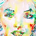 Marilyn Monroe Portrait.5 by Fabrizio Cassetta