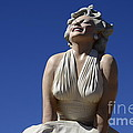 Marilyn Monroe Statue 2 by Bob Christopher