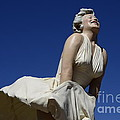 Marilyn Monroe Statue 3 by Bob Christopher