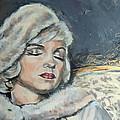 Marilyn Monroe - Unfinished by Lucia Hoogervorst