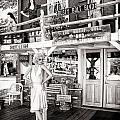 Marilyn On Route 66 by Diane Wood