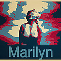 Marilyn Poster by Barbara Snyder