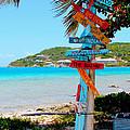 Marina Cay Sign by Carey Chen