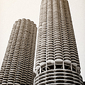 Marina City Chicago by Julie Palencia
