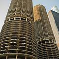 Marina City Chicago by Steve Gadomski