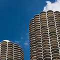 Marina City Morning by Steve Gadomski