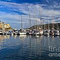 marina in Porto Azzurro by Antonio Scarpi