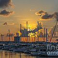 Marina Sunset by Dale Powell