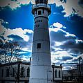 Marine City Michigan Lighthouse by Ronald Grogan