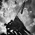 Marine Corps War Memorial by Jerry Fornarotto
