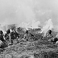 Marines Fought Retreating Japanese Hill by Everett
