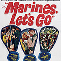 Marines, Lets Go, Us Poster, 1961, Tm & by Everett