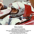 Mario Andretti by Don Struke