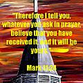 Mark 11 24  by Mark Moore