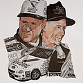 Mark Martin Race Car Driver by Joe Lisowski
