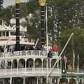 Mark Twain Riverboat Frontierland Disneyland Vertical by Thomas Woolworth