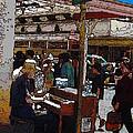 Market Busker 10 by Tim Allen