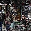 Market Busker 8 by Tim Allen