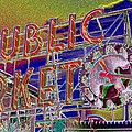 Market Clock 1 by Tim Allen