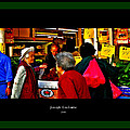 Market Day In Chinatown  by Joseph Coulombe