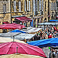 Market Day In Sarlat by Greg Matchick