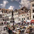 Market Day In The White City by Weston Westmoreland