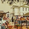 Market Days by Michael Swanson