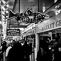 Market Grill In Pike Place Market by David Patterson