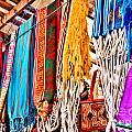 Market Hammocks In El Casco By Diana Sainz by Diana Raquel Sainz