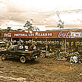 Market In Costa Rica  by Christy Gendalia