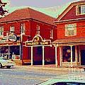 Market Lane Woodbridge Dominion Hardware Niagara Falls Ontario Vintage Streetscene Painting Cspandau by Carole Spandau