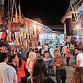 Market Life At Night 2 by Teresa Ruiz
