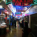 Market Lights by Zoltan Spitzer