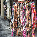 Market Scarves by Brenda Bryant