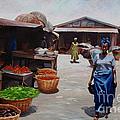 Market Scene by Sony Ejiro Akpotor