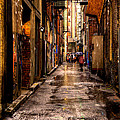 Market Square Alleyway - Knoxville Tennessee by David Patterson