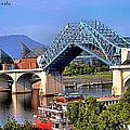 Market Street Bridge Rising by Shelley King Jr