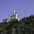 Marksburg Castle 24 Squared by Teresa Mucha